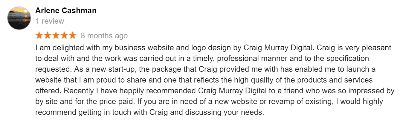 Website Design Ballymun Craig Murray Digital