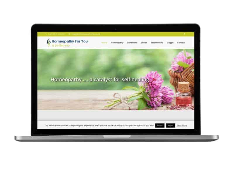 Portfolio of web design works Craig Murray Digital