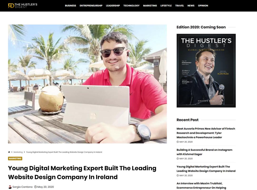 newest home page Craig Murray Digital