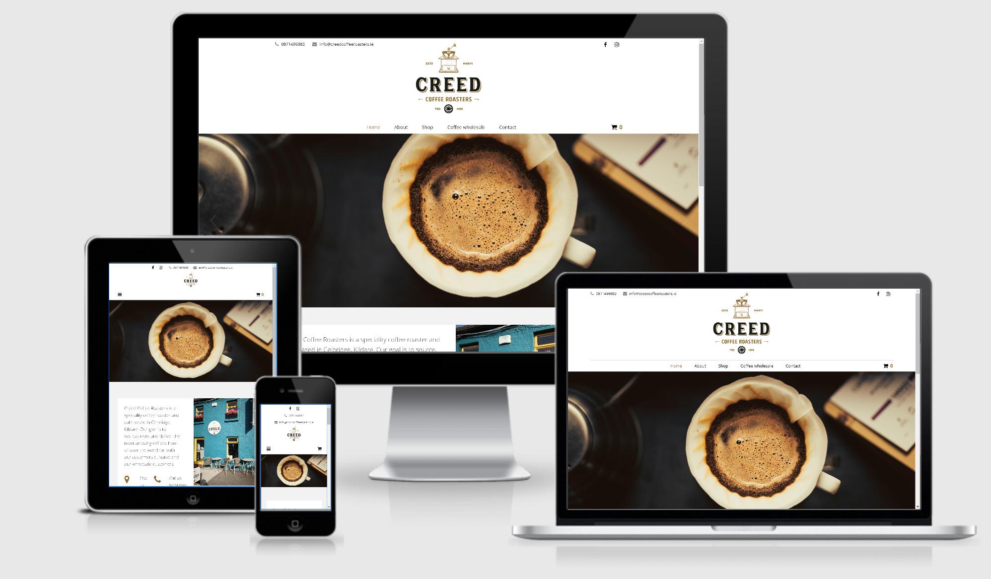 Creed Coffee Roasters Craig Murray Digital